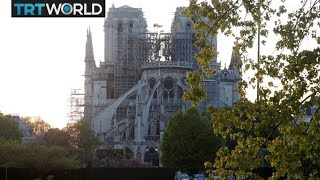 Notre-Dame Blaze: Church bells across France ring for Notre-Dame