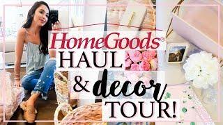 HOME GOODS HAUL & TOUR OF NEW HOME DECOR! | Alexandra Beuter