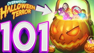 OVERWATCH HALLOWEEN EVENT 101X LOOT BOX OPENING!? l OVERWATCH LOOT BOX OPENING!!