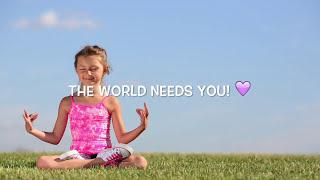 Feel Good Relax Music for Children ♫ Enhance Positive Energy & Feelings  Let Go of Negative Thinking - YouTube