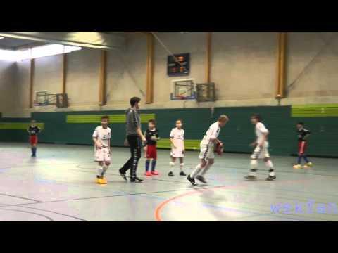 Hamburger SV - FC St. Pauli (U12 D-Jugend, Hamburger Hallenmeisterschaft 2015) - Spielszenen | ELBKICK.TV