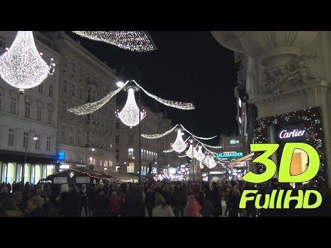[3DHD] Merry Christmas, Vienna, Austria / Frohe Weihnachten, Wien, Österreich sbs