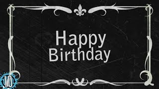 HAPPY BIRTHDAY! OLD TIMEY PIANO SLAPSTICK VERSION! Instrumental Music Remix: 10 Hours! #birthday