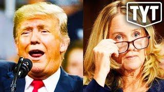 Trump Defends Christine Blasey Ford Mocking