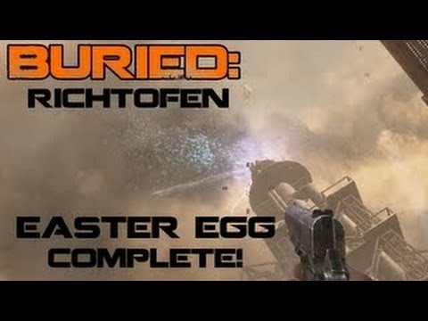 Black Ops 2 Zombies Buried Richtofen Easter Egg Ending - BO2 Richtofen Achievement COMPLETE - Smashpipe Games Video