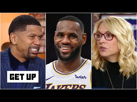 Jalen Rose and Doris Burke discuss LeBron conserving energy on offense | Get Up