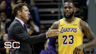 LeBron's passive aggressive behavior is challenging for his coaches - Brian Windhorst | SportsCenter