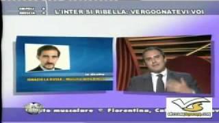 Lezione di stile di Massimo Zampini all'interista Ignazio La Russa