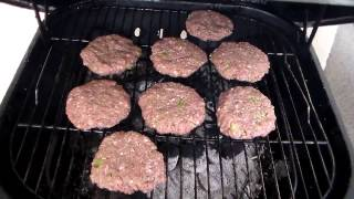 How To Make A Grilled Burger: Homemade Hamburger Recipe