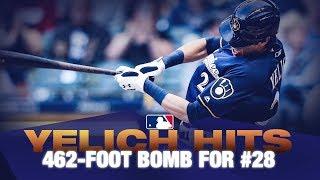 Christian Yelich's 28th home run of the season