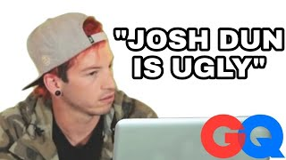 Josh Dun Goes Undercover on Twitter, YouTube & Facebook | Actually Me | GQ