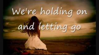 ♬ Holding on and letting go - Ross Copperman - lyrics ♬