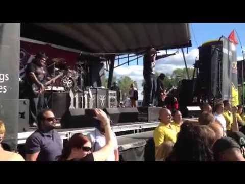 POD at Uproar festival, Noblesville Indiana