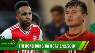 TIN NÓNG BÓNG ĐÁ 6/12 | Arsenal tiếp tục chìm trong KHỦNG HOẢNG, Quang Hải có thể đá CK Sea Games
