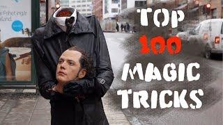 Top 100 Magic  tricks -Julien Magic