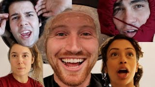 DYING MY HAIR AND USING MY FRIEND'S FACES IN MY THUMBNAIL FOR VIEWS!!
