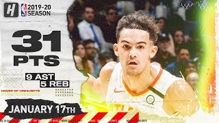 Trae Young 31 Pts 9 Ast 5 Reb Full Highlights | Hawks vs Spurs | January 17, 2020