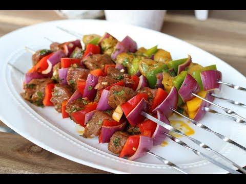 Vlees/Kip Spiesen op de BBQ