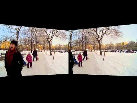 BeMe Cam Telehead: Sunny winter day Odenplan (Oculus Rift version)