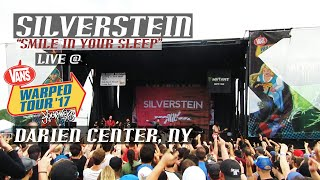 Silverstein | Smile In Your Sleep | Live At Warped Tour 2017 | Darien Center NY