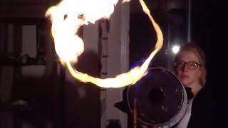 Fire Vortex Cannon