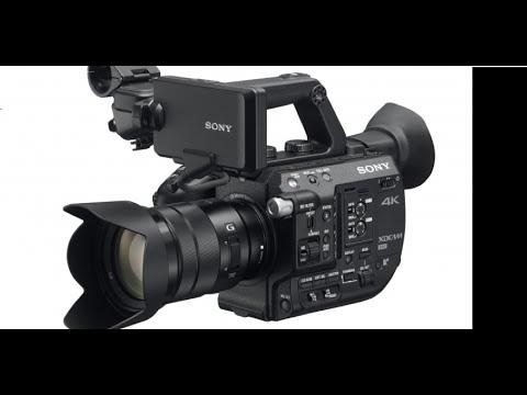 Sony PXW-FS5 4K Camera Rental Overview Footage
