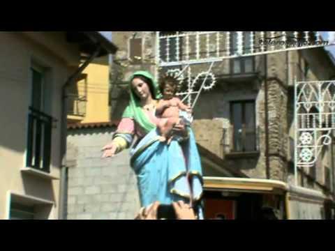 Processione Madonna di Grottaferrata 2012