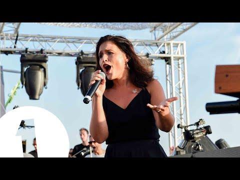 Jessie Ware live at Café Mambo for Radio 1 in Ibiza 2017