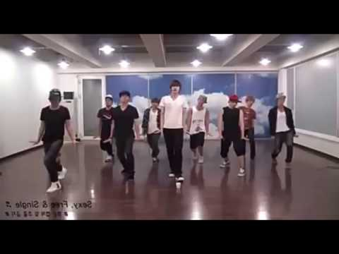 Super Junior - Sexy, Free & Single Mirror Dance
