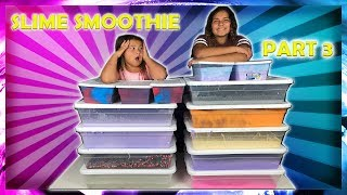 MIXING ALL OUR GIANT SLIMES - GIANT SLIME SMOOTHIE