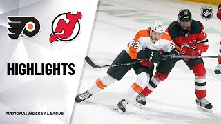 Flyers @ Devils 1/28/21 | NHL Highlights
