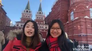 Tham quan quảng trường đỏ tại Moscow