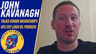 John Kavanagh: Conor McGregor wants Dustin Poirier trilogy fight for belt | Ariel Helwani's MMA Show