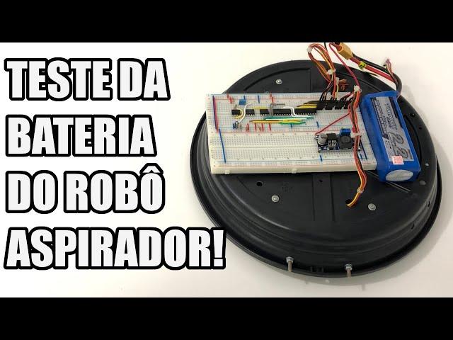 TESTE DA BATERIA DO ROBÔ | Usina Robots US-3 #017
