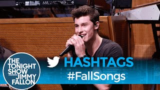 Hashtags: #FallSongs with Shawn Mendes