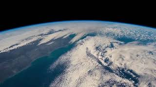 10 hours of Earth from Space with Wind Audio 4K UHD