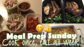 Meal Prep with a Morbidly Obese Woman! | 5 Days of Food!