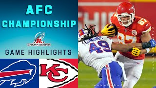 Bills vs. Chiefs AFC Championship Game Highlights | NFL 2020 Playoffs