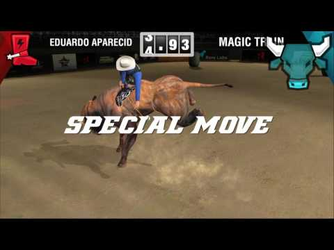 The Official Trailer of the PBR's New Mobile Game, 8 to Glory. The game is free to download and play and features more than 30 top riders and bulls from the PBR.