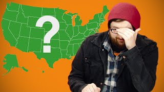 Irish People Try To Identify The American States
