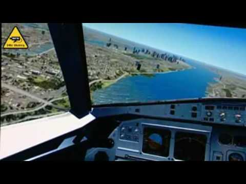 Симулација на слетувањето во реката Хадсон