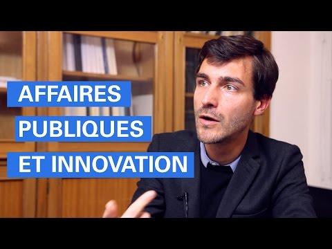 Nouvelle option : Affaires publiques et innovation