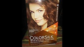 How I Dye My Hair: Revlon Colorsilk Medium Chestnut Brown