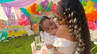 I'M BACK! LEGACY'S BIG FIRST BIRTHDAY PARTY🎈❤️ (VERY EMOTIONAL)💔😢