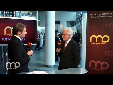 BUSINESS TODAY: ZDF-Intendant Schächter über die Konvergenz