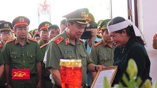 Thăng quân hàm cho Đại úy công an hy sinh khi bảo vệ Tết