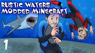 Ep. 1 - Rustic Waters Modded Minecraft w/ CaptainSparklez