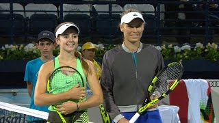 Highlights: WTA QF - Wozniacki d. Bellis