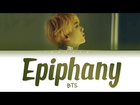 BTS Jin - 'Intro: Epiphany' Lyrics (Eng/Rom/Han/가사)