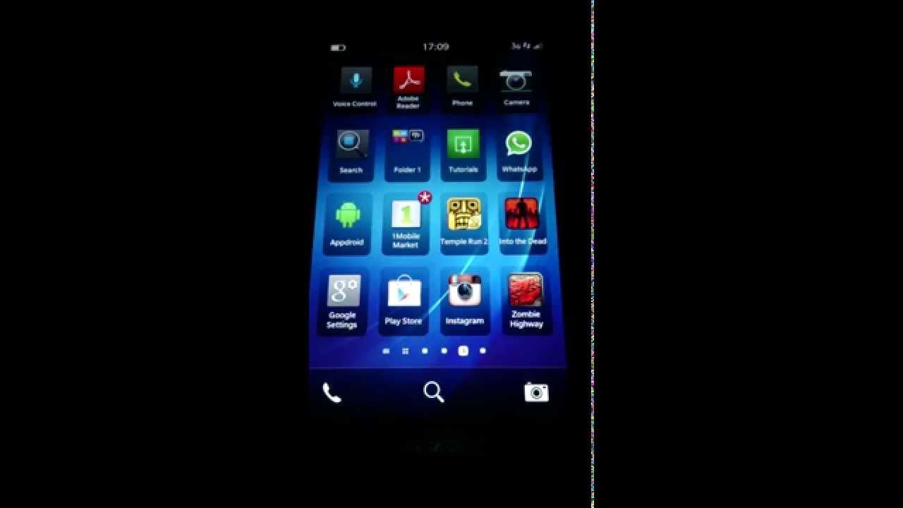 app store blackberry